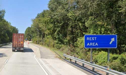 ga i16 rest area westbound mile marker 46