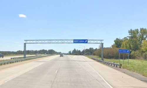 ga i75 rest area southbound mile marker 118