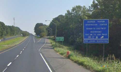 ga i85 rest area northbound mile marker 1
