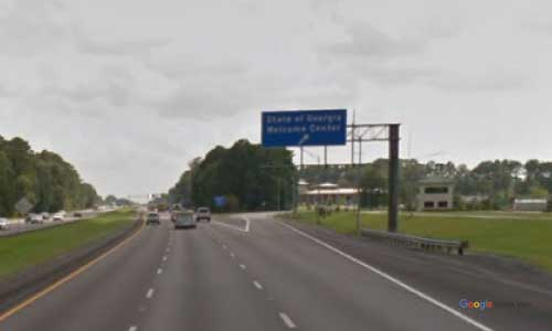 ga i95 rest area southbound mile marker 111